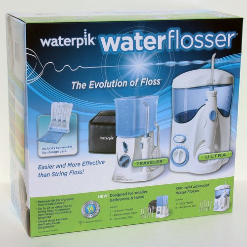 Waterpik Waterflosser Ultra and Waterpik Traveler Flosser image