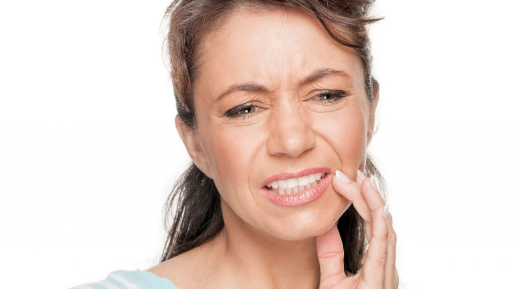 gums are mucosal tissue and it's very sensitive