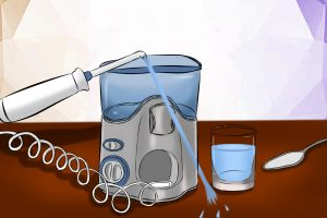 How to clean your waterpik and other flossers. Time savings techniques