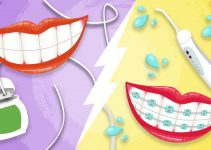 Can water flosser replace flossing