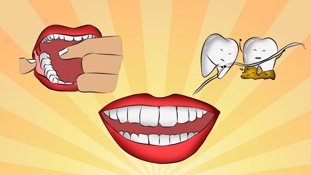 Can flossing remove tartar